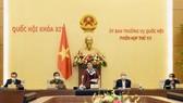 Chủ tịch Quốc hội Nguyễn Thị Kim Ngân phát biểu bế mạc phiên họp
