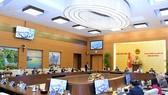 Toàn cảnh phiên họp thứ 54 của Ủy ban Thường vụ Quốc hội