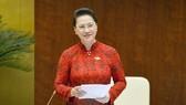 """Chủ tịch Quốc hội Nguyễn Thị Kim Ngân: """"Các đại biểu đã phát biểu thẳng thắn, trách nhiệm và đầy cảm xúc"""""""