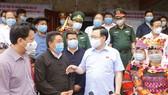 Chủ tịch Quốc hội Vương Đình Huệ, Chủ tịch Hội đồng bầu cử Quốc gia cùng đoàn công tác của Quốc hội làm việc tại Hà Giang