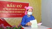 Hà Giang cũng là địa phương có tỷ lệ cử tri đi bỏ phiếu cao. Ảnh: QUANG PHÚC