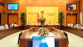 Một phiên họp của Ủy ban Thường vụ Quốc hội. Ảnh: ĐCSVN