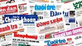 Do ảnh hưởng từ đại dịch, nhiều cơ quan báo chí có doanh thu phát hành, quảng cáo sụt giảm từ 40% - 50%. Ảnh minh hoạ
