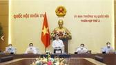Ủy ban Thường vụ Quốc hội khai mạc phiên họp thường kỳ đầu tiên