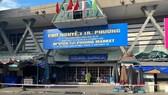 Chợ Nguyễn Tri Phương, quận 10 tạm thời phong tỏa do có ca mắc Covid-19
