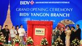 BIDV chấm dứt hoạt động văn phòng đại diện tại Yangon