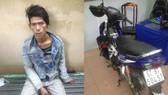 Trinh sát truy bắt tên cướp giật tài sản trên đường phố