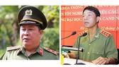 Ông Bùi Văn Thành (bên trái) và ông Trần Việt Tân