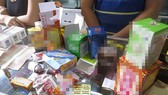 Bắt hơn 230.000 lọ thuốc hết date được dán nhãn mới, chuẩn bị đưa về TPHCM tiêu thụ