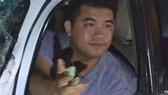 Thiếu úy Phan Hoài Ân có biểu hiện bất thường. Ảnh: N.Y