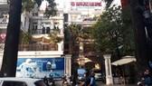 Công ty Quốc Huy Anh, nơi xảy ra vụ trộm. Ảnh: C.T.