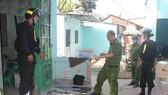 Triệt phát tụ điểm hoạt động tội phạm ở cạnh nghĩa địa ở tỉnh Đồng Nai