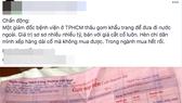 """Không khởi tố vụ Giám đốc Bệnh viện quận Gò Vấp bị """"tố"""" gom khẩu trang bán kiếm lời"""
