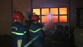 Lực lượng chữa cháy ở hiện trường