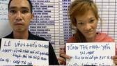 Cặp đôi nghiện ma túy dùng dao cướp xe ôm công nghệ ở TPHCM