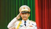 Thăng hàm Thiếu tướng cho đồng chí Đinh Thanh Nhàn. Ảnh: Công an TPHCM