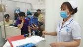 Y bác sĩ cấp cứu điều trị cho các bệnh nhân