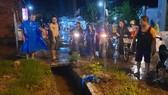 Thi thể gười phụ nữ rớt cống thoát nước bị cuốn mất tích trong cơn mưa được tìm thấy