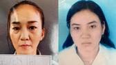Nguyễn Thị Mộng Thơ (trái) và Nguyễn Thị Xuân Hiền