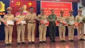 Công an TPHCM khen thưởng nhiều CSGT phòng chống tội phạm