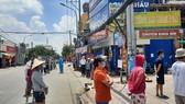 Phong tỏa tạm thời khu phố 8, phường Hiệp Bình Chánh, TP Thủ Đức với 13.000 nhân khẩu