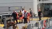 Cấp cứu thuyền viên bị nạn người Croatia
