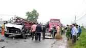 Hiện trường vụ tai nạn làm 6 người chết tại Tây Ninh