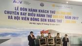 Lễ đón hành khách 94 triệu qua CHKQT Nội Bài