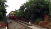 Hai đoàn tàu suýt đâm nhau tại ga Dầu Giây