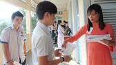 Thí sinh dự thi kỳ thi tốt nghiệp THPT