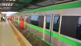 Bắt đầu vận hành thử đoàn tàu đường sắt đô thị Cát Linh- Hà Đông
