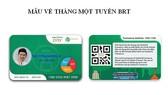 Buýt nhanh BRT Hà Nội chính thức dùng vé điện tử