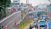 Thông xe nút giao giải toả ùn tắc đường nối trung tâm Hà Nội và sân bay Nội Bài
