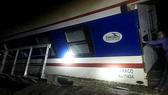 Thông tuyến đường sắt Bắc Nam sau sự cố tàu trật bánh