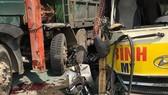 Hiện trường tai nạn trên Đại Lộ Thăng Long ngày 21-2