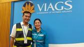 Chị Phùng Thị Ngọc vừa trả lại hành khách gần 1 tỷ đồng tài sản bỏ quên trên máy bay