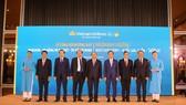 Thủ tướng Chính phủ Nguyễn Xuân Phúc tại lễ công bố đường bay mới