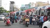 Bến xe thường xuyên quá tải trong những ngày tết