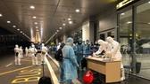 Những hành khách đặc biệt trở về từ TP Vũ Hán