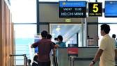 Hành khách đi chặng Hà Nội - TPHCM có quầy làm thủ tục riêng