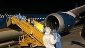 Chuyến bay quốc tế đưa công dân Việt Nam từ nước ngoài về hạ cánh tại sân bay Vân Đồn