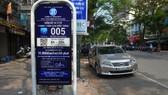 Điểm dừng đỗ xe thí điểm iParrking tại Hà Nội