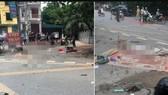 Hiện trường vụ tai nạn làm 3 cô gái tử vong vừa xảy ra tại Phú Thọ