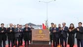 Lễ gắn biển nút giao đường Vành đai 3 với cao tốc Hà Nội - Hải Phòng