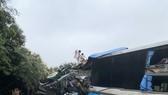 Hiện trường vụ tai nạn vừa xảy ra tại Hoà Bình sáng 16-3