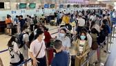 Lượng hành khách đến sân bay Tân Sơn Nhất cao kỷ lục
