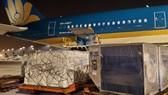 Vật tư y tế vận chuyển bằng đường hàng không