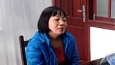 Đào Thị Thanh Bình tại cơ quan điều tra