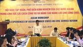 Các nước Đông Nam Á ngồi lại chia sẻ kinh nghiệm quản lý công vụ