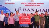 TPHCM hỗ trợ 50 tỷ đồng xây nhà tặng người nghèo tỉnh Lai Châu
